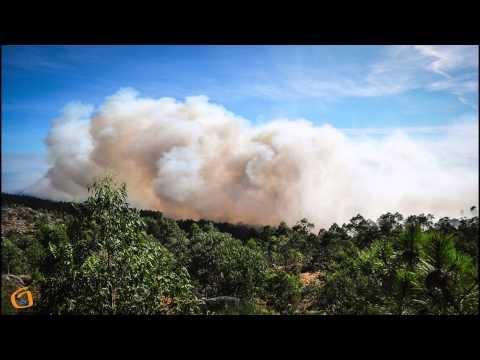 Incendio en Morgadáns e Malvas.
