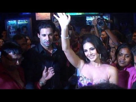 Sunny Leone Visit Gaiety Galaxy For Ragini MMS 2 Promotion