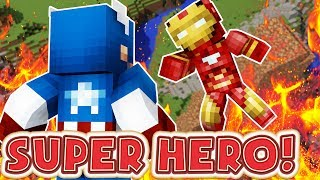 SUPER HERO LUCKY BLOCK MONEY HUNT - MINECRAFT LUCKY BLOCK MODDED MINIGAME PART 1