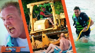 Jeremy Clarkson, Richard Hammond and James May are attempting to build a new coral reef using cars in Barbados. Unfortunately things might not have gone to p...