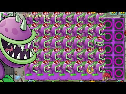 Plants vs Zombies 2  Hack - Chomper vs all Gargantuar