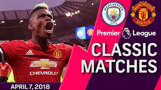 Video Man City v. Man United I PREMIER LEAGUE CLASSIC MATCH I 4/7/18 I NBC Sports MP3, 3GP, MP4, WEBM, AVI, FLV Juni 2019