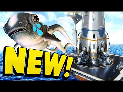 Subnautica - Rocket & Ending in Final Stages, CuteFish Goodbye, Degasi Update! - Subnautica Gameplay (видео)