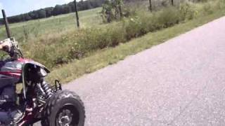 3. Yamaha Raptor 250 vs Yamaha Blaster 200