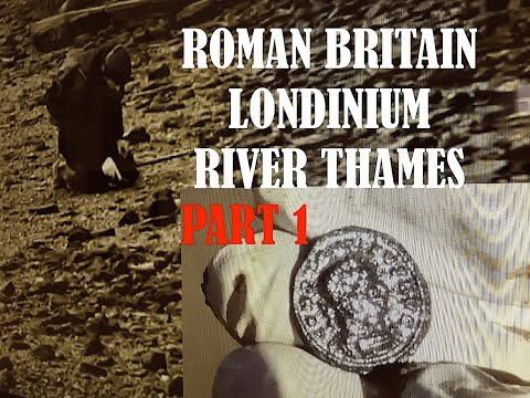 PART 1, ROMAN BRITAIN & LONDINIUM: ROMAN ARTEFACTS found on the  THAMES and other parts of BRITAIN