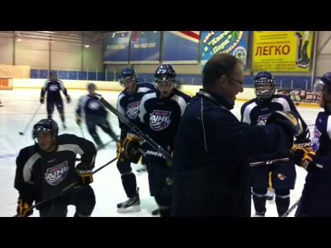 First Fort McMurray Oil Barons Practice in Russia
