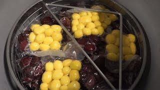 Видео: Варка и стерилизация в автоклаве овощей в вакуумной упаковке (картофель, свёкла).