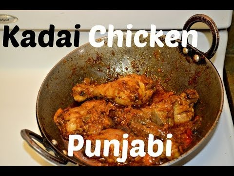 Kadai Chicken Authentic Punjabi Dhaba Style Recipe video by Chawla's Kitchen