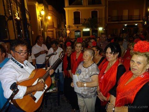 """Salve Rociera José A. Aguilera """"El Chicha"""" y el Coro de Mayores de Isla Cristina"""