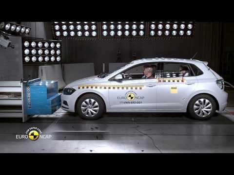 Euro NCAP Crash Test of VW Polo