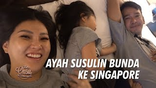 Video The Onsu Family - Ayah Susulin Bunda ke Singapore MP3, 3GP, MP4, WEBM, AVI, FLV Juni 2019