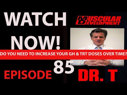 Do you need to increase TRT and GH doses over time | ASK DR TESTOSTERONE EP 85