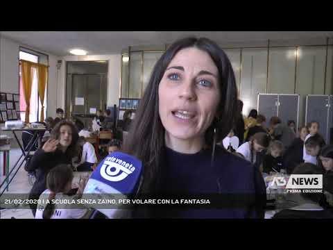 21/02/2020   A SCUOLA SENZA ZAINO, PER VOLARE CON LA FANTASIA