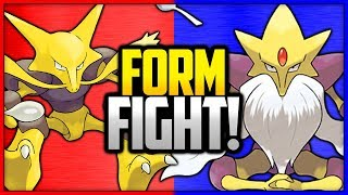Alakazam vs Mega Alakazam | Pokémon Form Fight by Ace Trainer Liam
