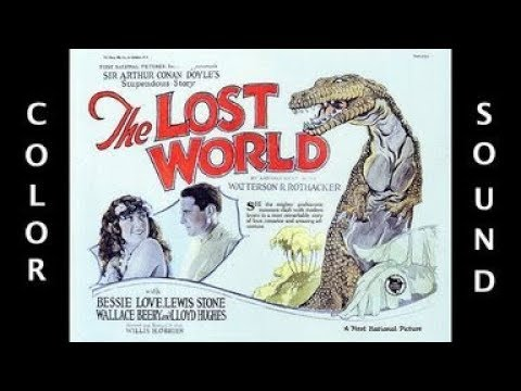 THE LOST WORLD REDUX (1925) - Colorized & Sound Design