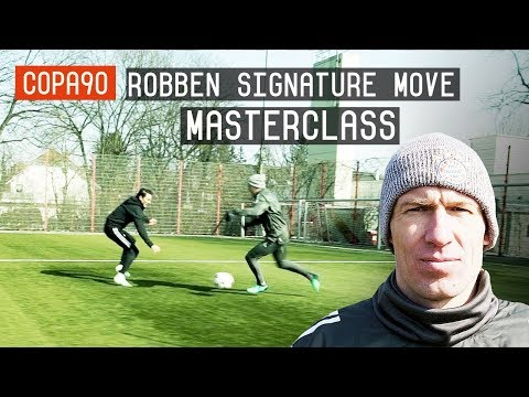Arjen Robben Signature Move Masterclass | European Nights