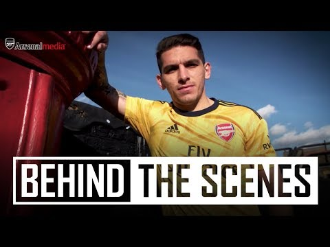 Behind The Scenes | 2019/20 Adidas Away Jersey Kit Shoot In London