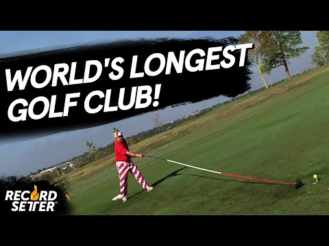 Check out the world's longest fully-functional golf club
