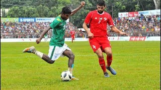 Bangabandhu Gold Cup 2018: Semi-final 2: Bangladesh 0-2 Palestine | Full Match Highlights