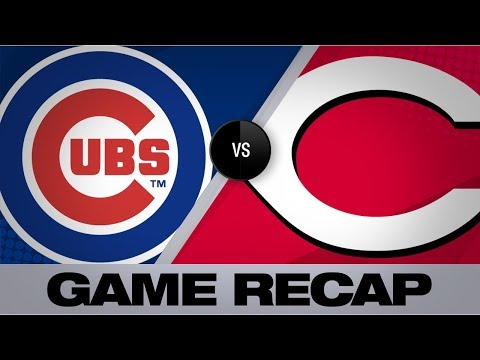 Video: Bryant propels Cubs with clutch 3-run HR | Cubs-Reds Game Highlights 8/11/19