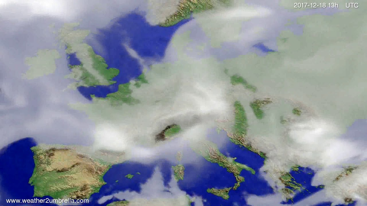 Cloud forecast Europe 2017-12-15