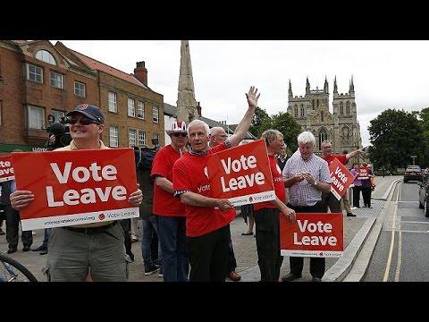 «Οργωσαν» την Βρετανία οι επικεφαλής του Brexit