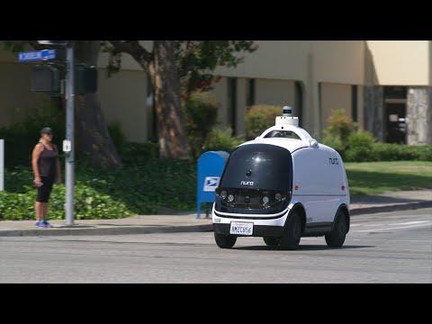Nuro self-driving road vehicle
