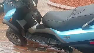 10. 2008 piaggio mp3 250 scooter for sale