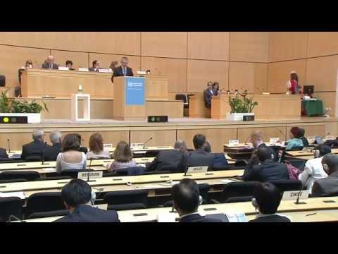 Veselības ministra Dr. Gunta Belēviča uzruna Pasaules Veselības organizācijas 68.Asamblejā