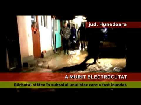 Un bărbat a murit electrocutat în subsolul unui bloc din Lupeni