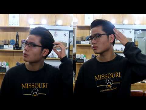 Mens hairstyles - Men's hairstyles 2 in 1 haircut  Longtrim Side Part  The dreamer clay pomade by 3Lizard