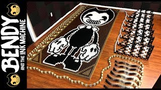 Video Bendy and the Ink Machine (IN 54,984 DOMINOES!) MP3, 3GP, MP4, WEBM, AVI, FLV Mei 2018