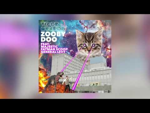 Tigermonkey - Zooby Doo feat. Majestic, Fatman Scoop & General Levy (Cover Art)