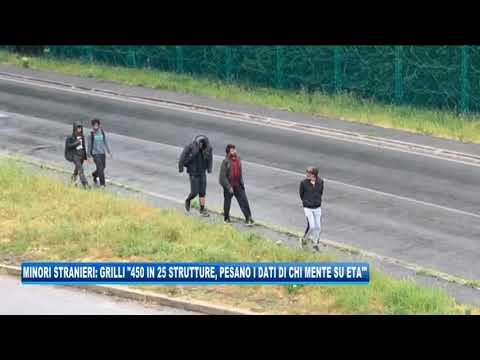 08/09/2020 - MINORI STRANIERI: GRILLI '450 IN 25 STRUTTURE, PESANO I DATI DI CHI MENTE SULL'ETA'