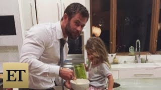 Chris Hemsworth Says His 3-Year-Old Daughter Asked Him for a Penis full download video download mp3 download music download