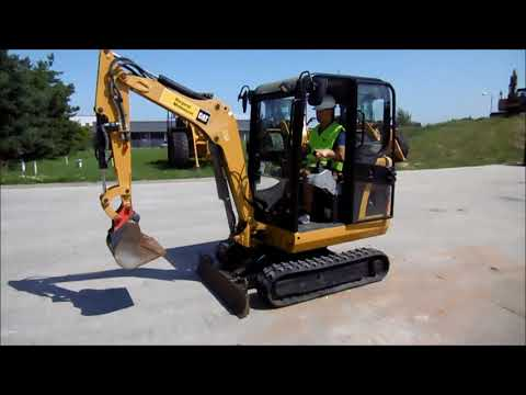 Caterpillar EXCAVATOARE PE ŞENILE 301.8C equipment video c_S2oVmRMcU