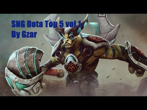 SNG Dota Top 5 vol.1 | by Gzar