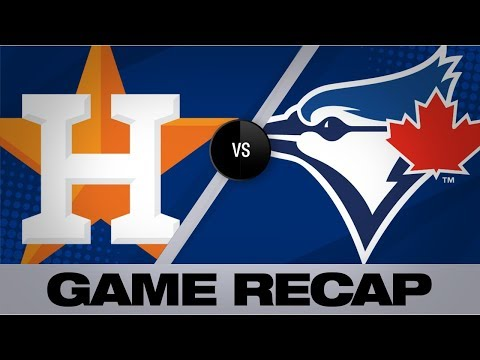 Video: Springer powers the Astros in a 7-4 victory | Astros-Blue Jays Game Highlights 8/30/19