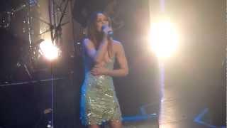 Sexy Vanessa Paradis at Lulu Gainsbourg concert Casino de Paris 2011