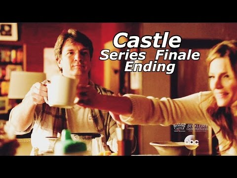 "Castle 8x22 Ending / End Scene Castle & Beckett Kids Caskett Happy Ending Series Finale ""Crossfire"""