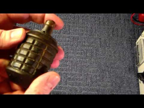 WW2 Japanese Hand Grenade Type 91