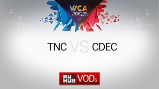 CDEC vs TnC, game 1