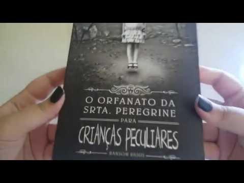 Review -Livro O orfanato da srta. Peregrine para crianças peculiares
