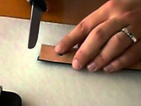 Handmacher Gürtel kürzen