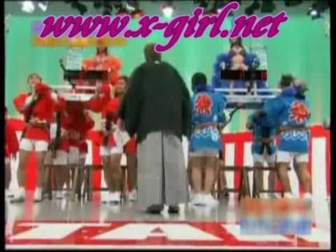 日本深夜成人節目請來G奶女優大玩波波彈彈遊戲?!太情色了吧!