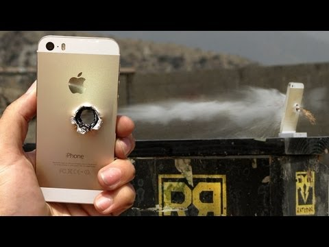 Iphone - http://www.Netflix.com/RatedRR Help support the show and get a free month of streaming! iPhone 5s vs 50 cal - RatedRR Slow-Mo Torture Test Click here to subscribe: http://goo.gl/mZDvQ The...