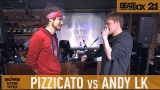 PIZZICATO vs ANDY LK | Halloween Beatbox Battle 2015 | FINAL
