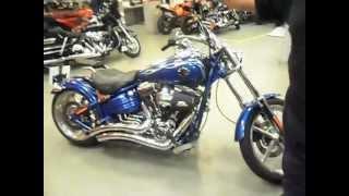10. Harley-Davidson Rocker C with a 120 cubic inch (2000 cc) engine
