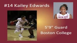 Kailey Edwards NCAA Highlights 2016-17'