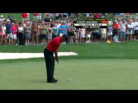Tiger Woods wins 70th title at WGC-Bridgestone Invitational '09